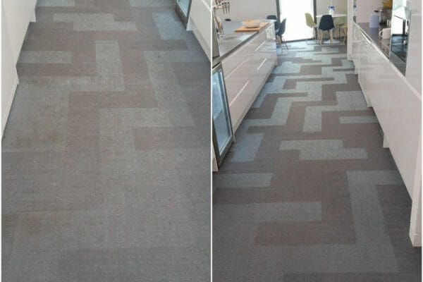Bolon flooring clean kitchen area London