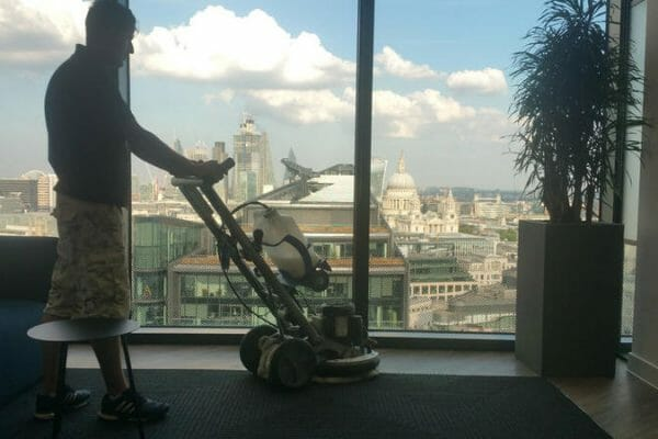 Office carpet clean, Systems Technology, London