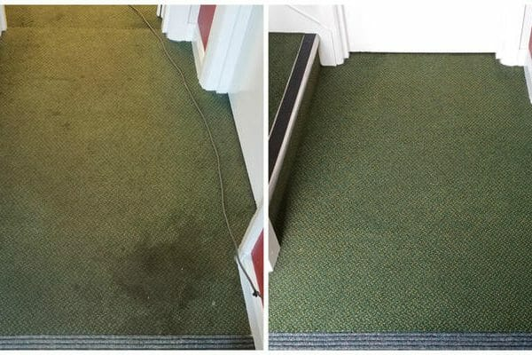 Warehouse office carpet clean Essex