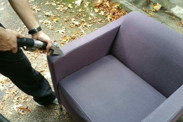 Hotel upholstery cleaning