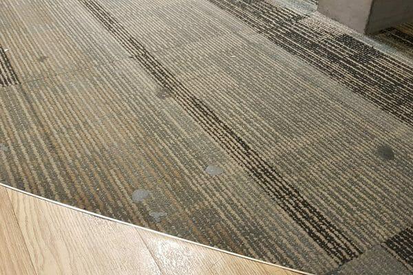 Chewing gum in carpet Specsavers Peckham