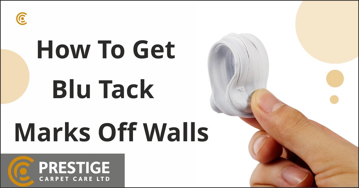 Blu Tack Marks Off Walls