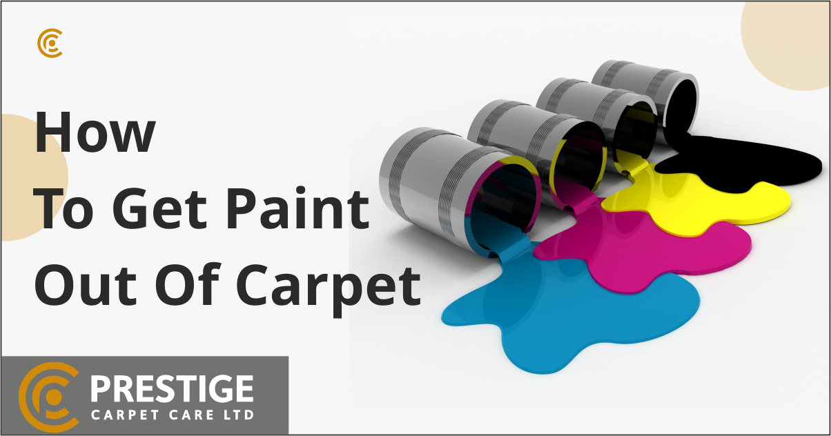 How to Get Paint Out of a Carpet